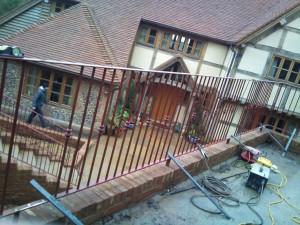 metal railings buckinghamshire